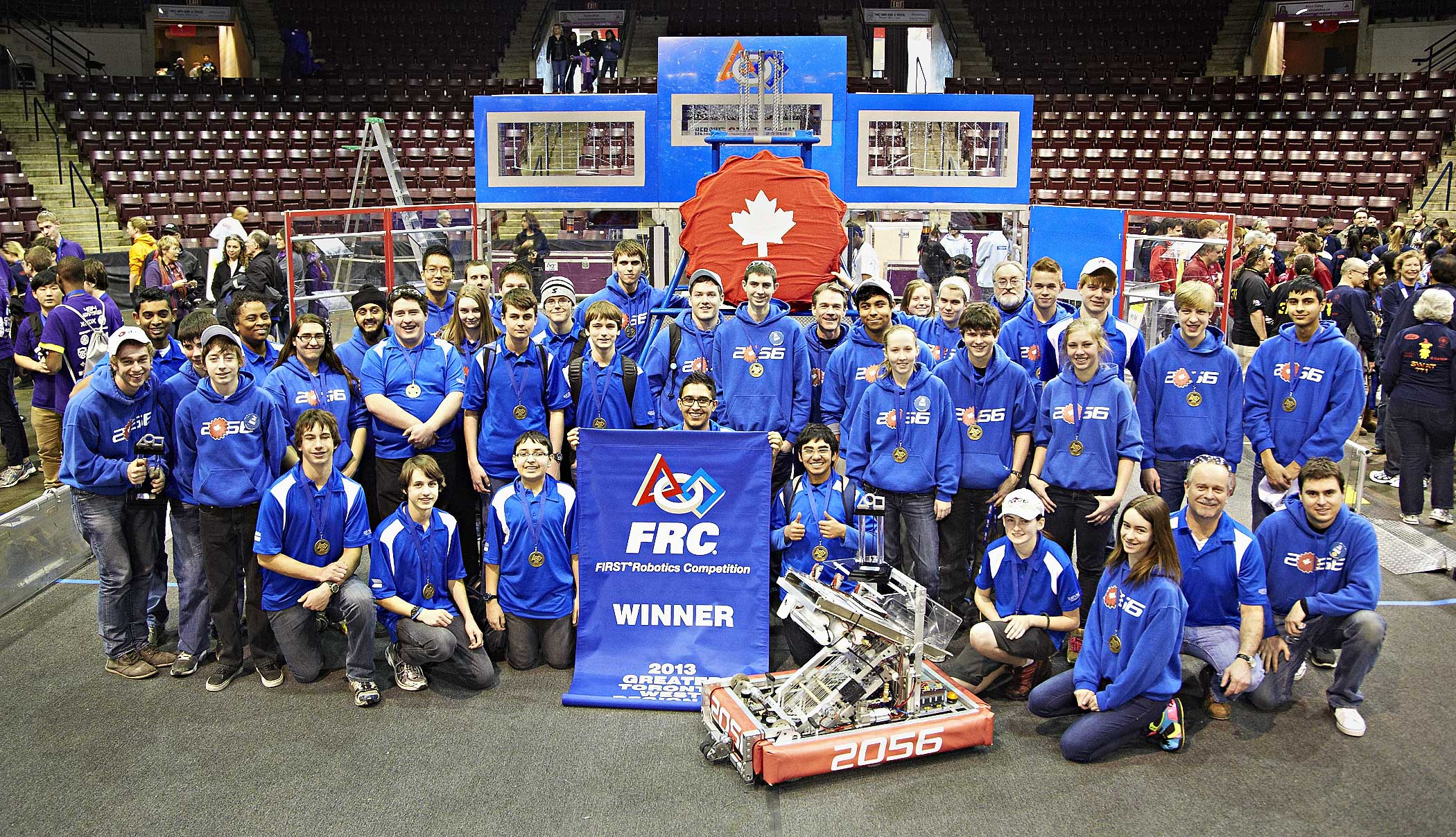 This weekend, March 28th-30th, Team 2056, the robotics team from Orchard  Park Secondary School competed at the Hershey Centre in Mississauga against  45 ...