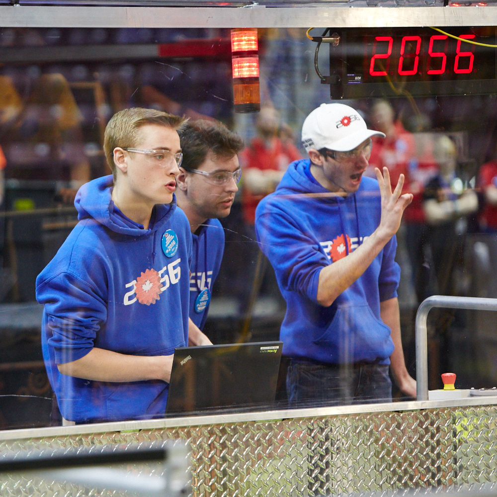 OP Robotics team 2056,First robotics,Orchard Park High School,Stoney Creek,Robert Wells